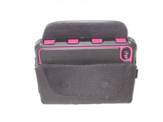 Ecolife Hydro Holster Pouch for Hot Pink Black iPhone 4G 4GS Ballistic