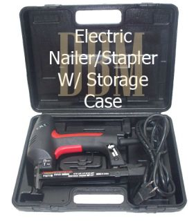 Electric Nailer Stapler Air Nail Gun 18 Gauge 3 8