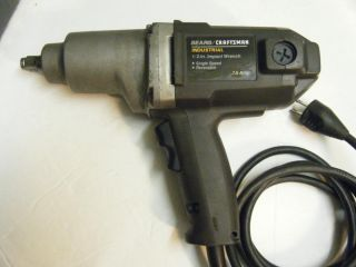 Industrial Electric Impact Wrench Model 900 275132