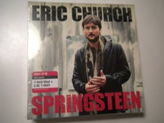 Eric Church 7 45 Record PS Limited Edition T Shirt Box Set
