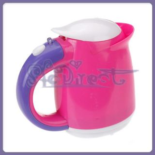 Learn Kitchen Cookware Electric Jug Kettle Pink Plastic Toy