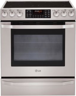 Series Slide in Electric Range Convection Bake Roast LSES302ST