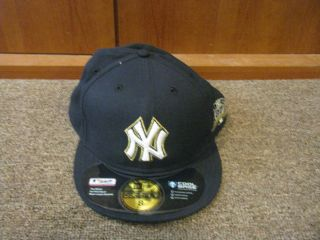 New Yankees 27 World Series w Gold White NY Cap Hat Fitted Extra Large