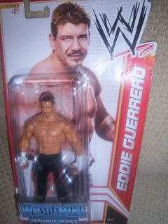 EDDIE GUERRERO Mattel WWE WrestleMania Heritage Basic Series 16