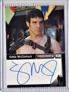 eddie mcclintock autograph this is a mint warehouse 13 season 3 eddie