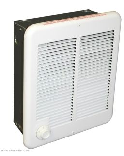 Electric Low Profile Wall Utility Space Heater White 2000 w Panel