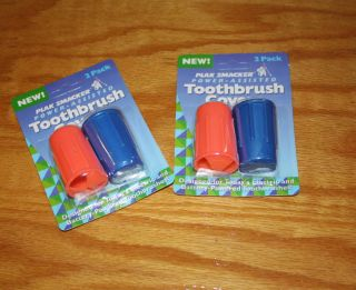 Toothbrush Cover Larger Design Electric Battery 2 Packs Various Colors
