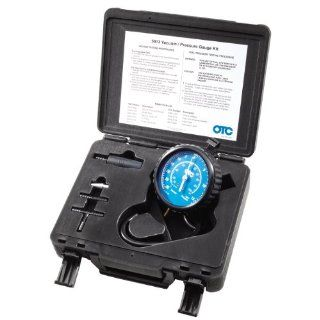OTC SPx 5613 Vacuum Fuel Pressure Gauge and Adapters Tester Kit w Case
