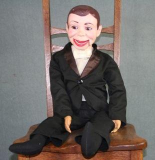 Vintage 1960s Edgar Bergens Charlie McCarthy Ventriloquist Doll Dummy
