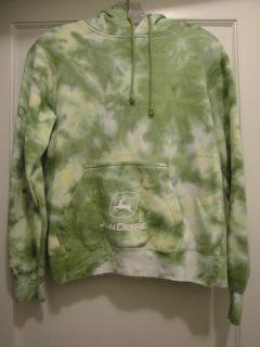 John Deere pullover hooded sweatshirt size Medium