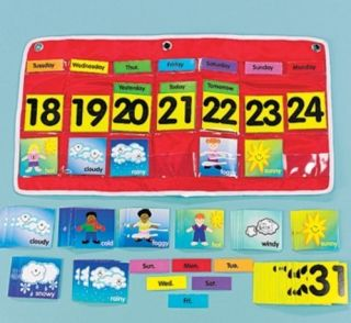 POCKET CHART Calendar Teacher Classroom CARDS Kindergarten Elementary