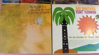 Garrett 50 Guitars Vinyl LP Records Espana Hawaii Maria Elena Best