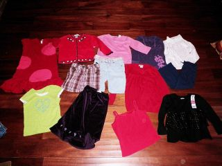 12 PC Lot Girls Fall Winter Clothes Size 4 5 4T 5T