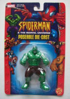 NEW Die Cast INCREDIBLE HULK Toy Biz AVENGERS Poseable Marvel