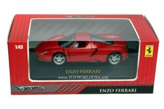 hot wheels collectors enzo ferrari 1 43 scale ferrari official