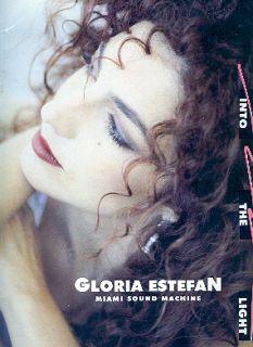 GLORIA ESTEFAN 1991 INTO THE LIGHT TOUR CONCERT PROGRAM BOOK