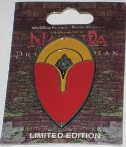 DSF Narnia Prince Caspian Edmunds Shield Disney Pin Le