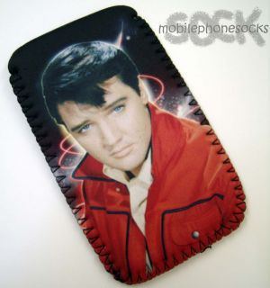 Elvis Presley Design Mobile Phone Pouch Case Cover Fits Samsung Galaxy