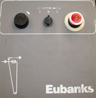 Eubanks 6815 05A Belt Driven Prefeed Wire Stripper