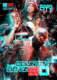 Lil Wayne Rick Ross Yo Gotti Jeezy Videos Rap DVD + CD   Country Boys