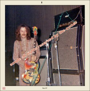 Cream Clapton Sound Check 1967 Repro Snapshots Pro Lab High Qual Paper