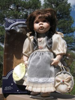 Emerald Collection Tiffany Hand Painted Porcelain Doll
