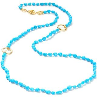 Foutz Heritage Gems Sleeping Beauty Turquoise Vermeil 36 Necklace