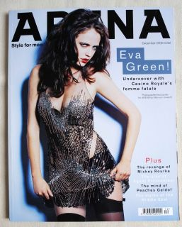 Arena 12 2006 Eva Green Kelly Carlson Agent Provocateur Mickey Rourke