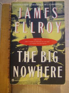 Signed The Big Nowhere James Ellroy 1990
