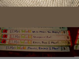 Elmos World Sesame Street Kids Toddler 8 DVD Lot Instant Collection