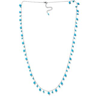 Gems Sleeping Beauty Turquoise Sterling Silver 36 Necklace