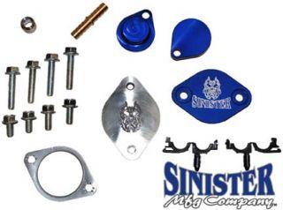 Sinister EGR Delete Kit Diesel 2008 2010 Ford 6 4L Powerstroke SMC