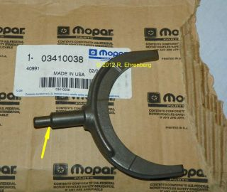 Mopar A 833 4 Speed Transmission HD 3 4 Shift Fork Cuda Charger Road