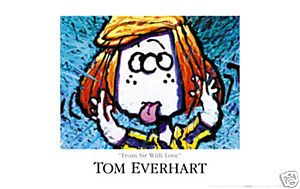 Tom Everhart Snoopy Tom Everhart from Sir with Love Pop Art Peanuts
