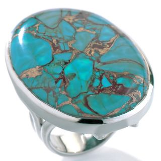 turquoise sterling silver oval ring note customer pick rating 43 $ 59
