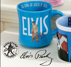 Collectible Signature Product King Elvis Presley Mug