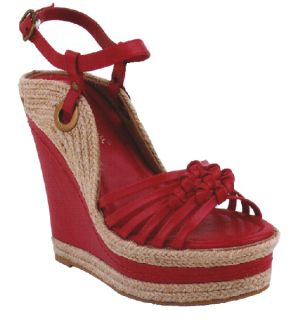 New Black Wedge Platform Espadrilles Ankle Strap Peep Toe Sandal Women