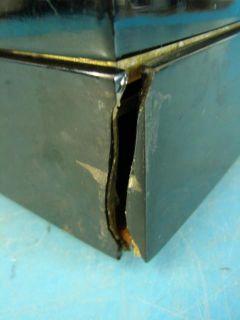 Emerson 570 Jewelry Box Portable Antique Mini Tube Radio Black Cabinet