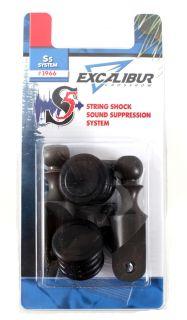 Excalibur S5 String Shock Sound Suppression System for Excalibur