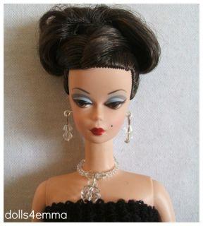 HANDMADE CUSTOM Glamour FASHION + JEWELRY 4 SILKSTONE BARBIE DOLL