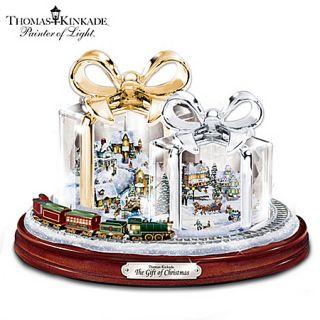 Thomas Kinkade The Gift of Christmas Table Centerpiece