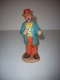 Emmett Kelly Jr. Collection   Clown by Flambro   Missing Umbrella or