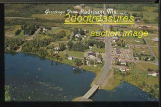 Radisson Wi Bev Town Railroad Depot Couderay Ojibwa Wisconsin Wis Wisc