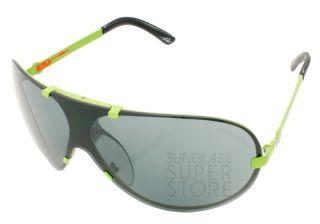 Electric Sunglasses Lead Fiend Green Metal Grey Aviator