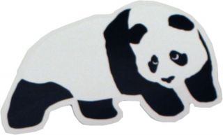 enjoi skateboards panda logo sticker decal 6 x 4 this sticker