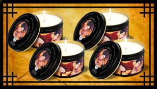 Intimate Moments 7 Ounce Massage Candles Exotic Fruits Libido