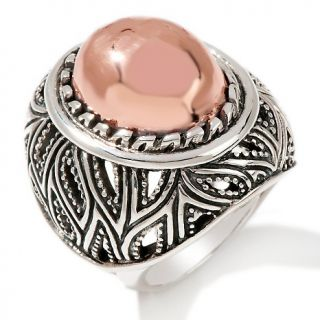 barse copper and sterling silver oval ring rating 4 $ 62 97 s h