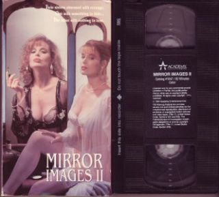 MIRROR IMAGES II Unrated Version!! 1994 SHANNON WHIRRY Rare!! OOP VHS