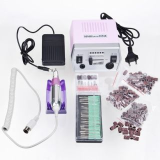 Pcs Electric Manicure Pedicure Nail Art File Tools 220V EU New