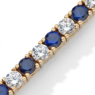 Absolute Diamond Sapphire Multi Stone Line Bracelet